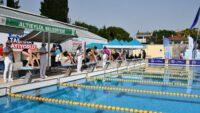 Yüzme İl Birinciliği yarışmaları