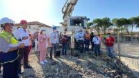 Milletvekili Mutlu AYDEMİR 14 derslikli #Demirkapı İlkokuluNun temel atma törenine katıldı