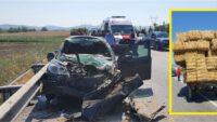 Balıkesir'de Bir Üzücü Kaza Daha: 1'i Ağır 3 Yaralı