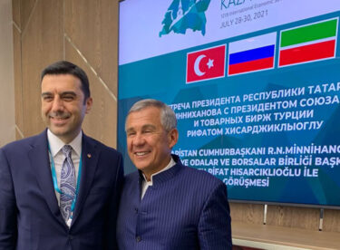 Ticaret Odası Başkanı Rahmi Kula, Tataristan'da