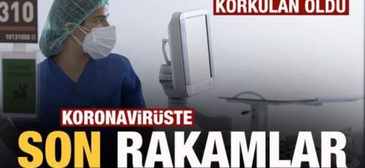 Koronavirüs tablosu! Vaka, Hasta, ölü sayısı ve son durum açıklandı