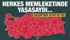 Türkiye'nin memleket haritası! İşte il il nüfus rakamları…(BALIKESİR  1.281.666kişi)