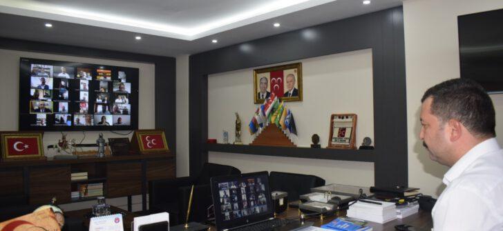 """MHP'de""""Siyasi Partilerde Mali Denetim"""" konulu eğitim semineri"""