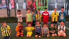 #Futbol branşında yetenekli gençlerimiz yetişiyor..