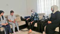 Milletvekili Uygur'dan taziye ziyareti