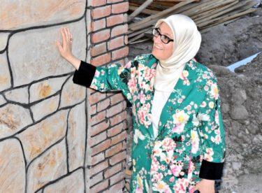 Milletvekili Belgin Gökçe Uygur baba ocağı Bigadıç'ı ziyaret etti.