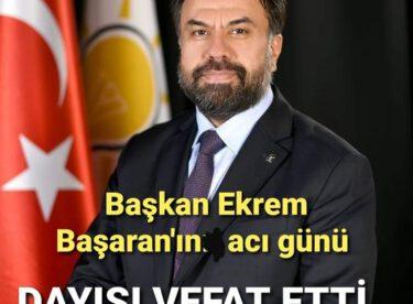 KORONA VİRÜS BİR CAN DAHA ALDI..EKREM BAŞKANIN DAYISI VEFAT ETTİ..