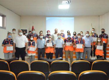 """""""AFAD Gönüllüleri Projesi"""" Kapsamında Sertifikalı İlkyardım Eğitimi Verildi."""
