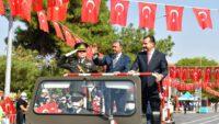 30 Ağustos Zafer Bayramının 99'uncu yıl dönümü düzenlenen törenlerle kutlandı.