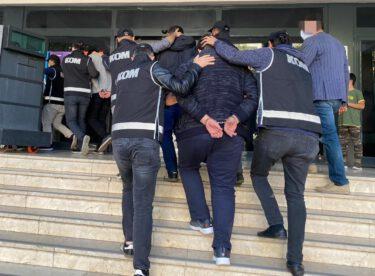 FETÖ'den Gözaltına Alınan 17 Kişi Adliyeye Sevk Edildiler