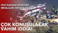 Balıkesir'deki otobüs faciasında yeni gelişme