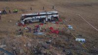 Balıkesir'de yolcu otobüsü takla attı: 14 ölü, 18 yaralı