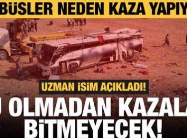 Otobüsler neden kaza yapıyor?
