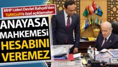 MHP Lideri Devlet Bahçeli: Anayasa Mahkemesi hesabını veremez