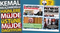 Kemal Kılıçdaroğlu, hainlere müjde üstüne müjde dağıtıyor!
