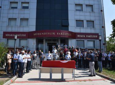 BAÜN Öğretim Üyesi Turgut Özdemir, Son Yolculuğuna Uğurlandı