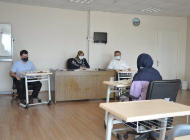 """Kur'an-ı Kerim'i Güzel Okuma"""" yarışması İl finali Balıkesir İl Müftülüğünde gerçekleşti."""