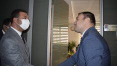 MHP İl yönetimi sivil toplum kuruluşlarına ziyaretlerde bulundu