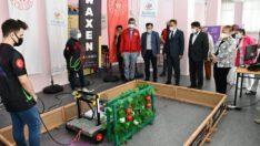 Awaxen takımı Otonom Hasat Robotu finalde yarışacak.