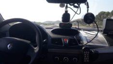 Hız denetimi sonucunda; (282) araç kontrol edildi