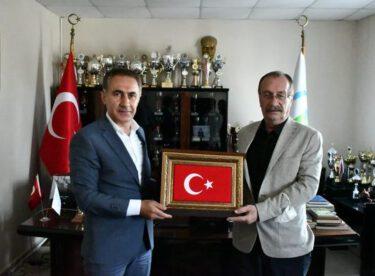 ASKF Başkanı  Metin Mengüç'e ziyaret