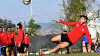 Balıkesirspor  Denizlispor maçının hazırlıklarını sürdürüyor