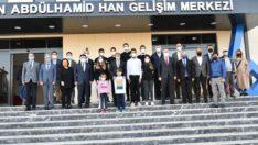 Sultan Abdülhamit Han Gelişim Merkezinde incelemelerde bulundular