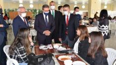 Vali Hasan Şıldak, Balıkesir Üniversitesini ziyaret ederek incelemelerde bulundu.