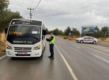 Jandarma Trafikdenetimlerinde (1.748) araç kontrol edildi