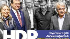 Diyarbakır'da annelere değil HDP'ye giden İmamoğlu'na tepki