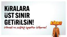 """ALTINOLUK İSMAİL AĞA SİTESİ SAKİNLERİ """"KİRALARA ÜST SINIR GETİRİLSİN""""KAMPANYASI BAŞLATIYOR!…"""