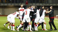 Milli Takım son dakika golüyle güldü